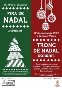 Fira de Nadal de Miravet 10 i 11 de desembre de 2016